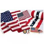 U.S.A. flags and merchandise
