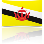 Brunei Indoor Flag - Fringed or Unfringed