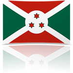 Burundi Indoor Flag - Fringed or Unfringed