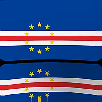 Cape Verde Indoor Flag - Fringed or Unfringed