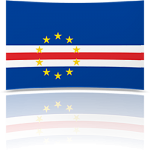 Cape Verde Indoor Flag - Fringed or Unfringed