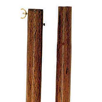 Wood Grain Vinyl Steel Poles