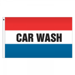 3' x 5' Message Flag - Car Wash