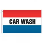 3' x 5' Message Flag - Car Wash