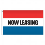 3' x 5' Message Flag - Now Leasing