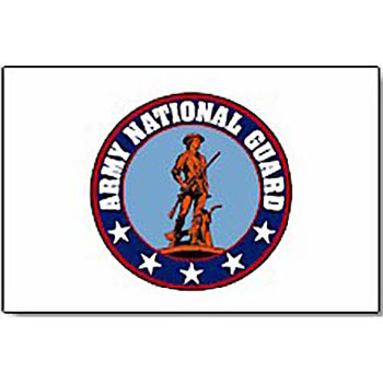 Outdoor Nylon National Guard Flag