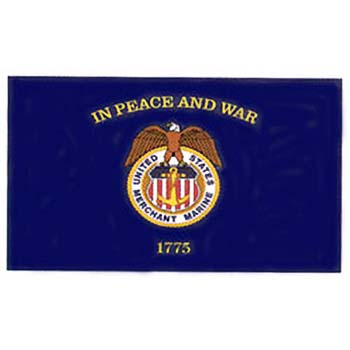 Outdoor Nylon Merchant Marine Flag