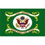 Outdoor Nylon Army Retired Flag