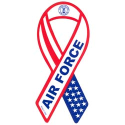 Air Force Ribbon Magnet