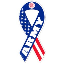 Army Ribbon Magnet
