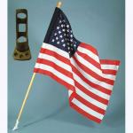 Weekend Patriot Outdoor Flag Set