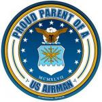 Proud Parent Air Force Magnet