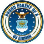 Proud Parent Air Force Magnet