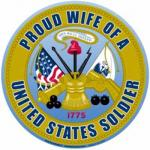 Proud Wife Army Magnet