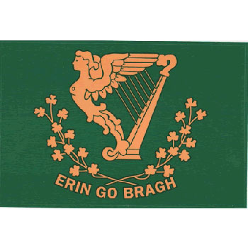 Erin Go Bragh Flag Decal