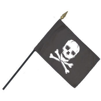 Pirate Handheld / Desk Flags