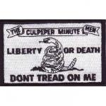 Culpepper Minute Men Flag Patch