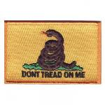 Gadsden Don't Tread on Me Flag Patch