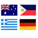 Foreign Flag Decals