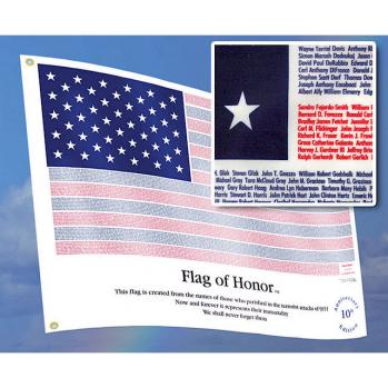 9/11 Flag Of Honor