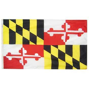 Maryland Flag - No Fringe