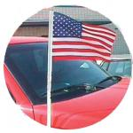 Cloth U.S. Antenna Pennants