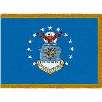 Air Force Fringed Indoor / Parade Flags