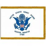 Coast Guard Fringed Indoor / Parade Flags