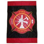 Fireman's Decorative Flag