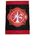 Fireman's Decorative Flag
