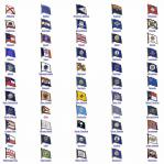 State Flag Lapel Pins - Your Choice