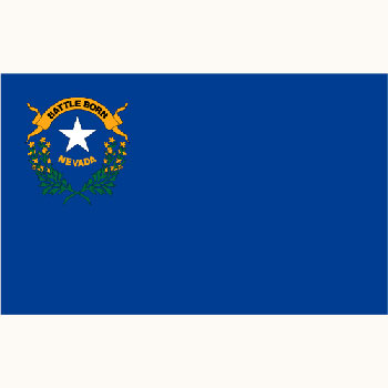 Economy Poly Nevada Flag