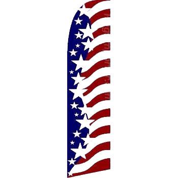 11.5' Americana Advertising Blade Flag