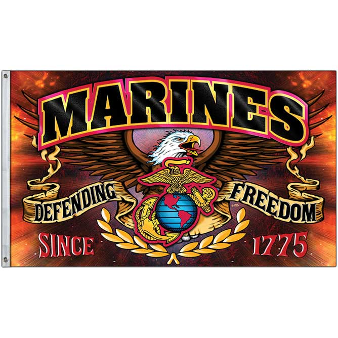 Marine Corps Freedom Fighter Flag