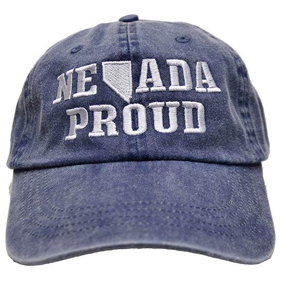 Nevada Proud Stone Washed Cap