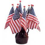 Saf-T-Ball U.S. Mini Flags On Staff 8 x 12