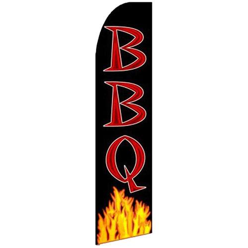 11 5 Bbq Fire Advertising Blade Flag