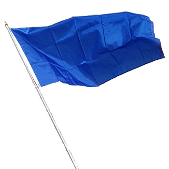 Rodeo Practice Flag with Pole - Various Colors