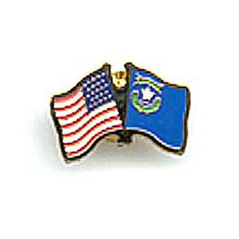 U.S. / Nevada Friendship Lapel Pin
