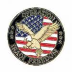 Operation Iraqi Freedom Lapel Pin