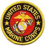Marine Corps Round Patch