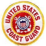 Coast Guard Round Patch