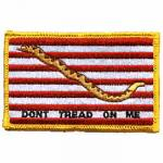 First Navy Jack Flag Patch