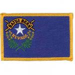 Nevada Flag Iron Patch