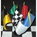 7 Flag Racing Desk Set