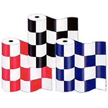 Plastic Checker Bunting Rolls