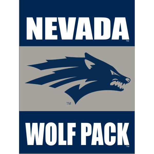 Nevada Wolf Pack 30 X 40 Decorative Flag