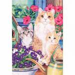 Kitten Mischief banner flag
