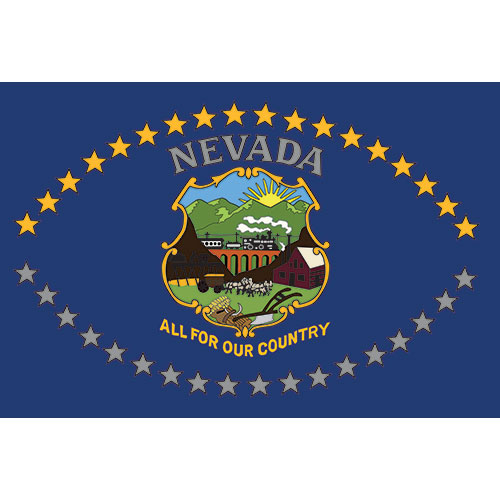 Eventflags Flags Banners And Custom Printed Bladessecond Nevada Flag All For Our Country