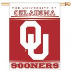 Oklahoma Sooners Vertical Banner
